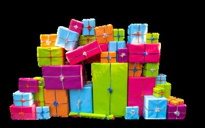 Juleleg: Pakkeleg med terninger