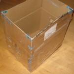 Byg en vandtæt papkasse