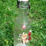 Mal og pynt syltetøjsglas og flasker