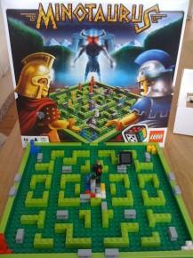 Sjovt spil fra Lego - Minotaurus