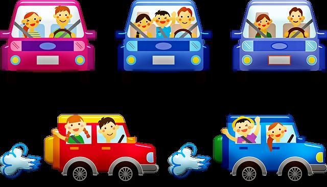 Sjove lege til bilferien og restaurantbesøg