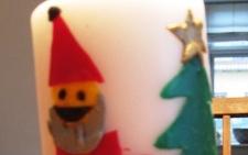 Julepynt: Pynt lys med voks