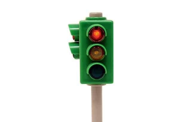 Leg: 1-2-3 rødt lys stop